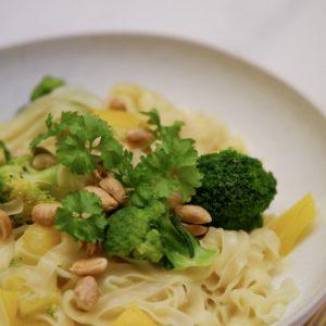 Vegane One Pot Pasta – nach asiatischer Art